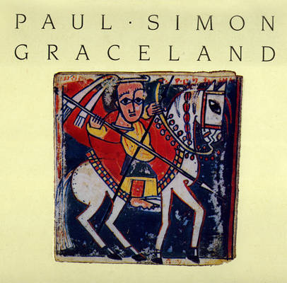 Paul Simon Graceland 1986 LP Front Cover 14463
