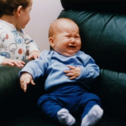Brother-Sister Relationships:  Solid as a Bungee Cord
