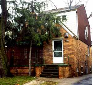 Laura JimAnn house Ward Detroit