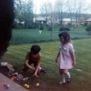 """Want to help me hide the eggs?""  Farewell to the Easter Bunny…and Childhood"