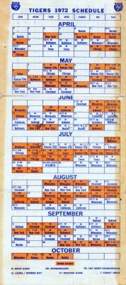 1972_TigersSchedule