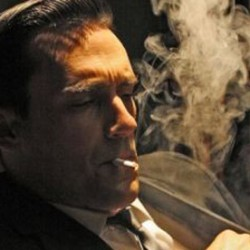 Don Draper & Tony Soprano:  Smoking Alpha-Males at Mid-Life Crisis