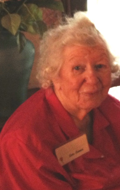 Historian and author, Lois Lance, 96