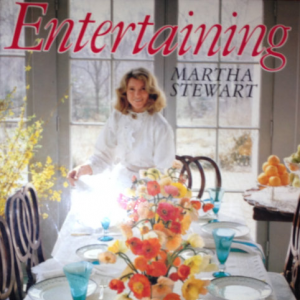 Martha Stewart-Entertaining