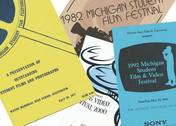 Four decades of Programs from the Michigan Student Film Festival