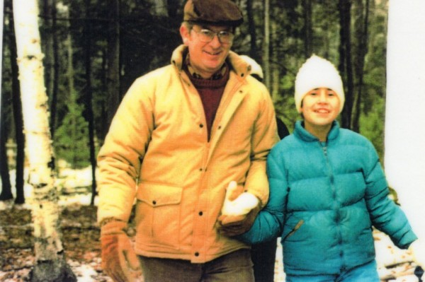 Jim Walsh and Julie Stanczyk, a few years earlier.