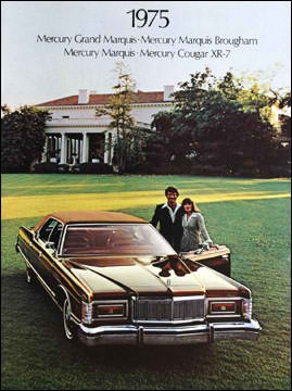 The salad days of wide-lapels, Gerald Ford and parking on the lawn of one's mansion.