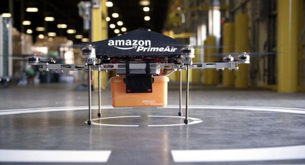 Bezos' hopeful delivery system--just watch for Amazonian droppings.