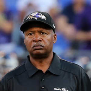 Jim Caldwell, choosing to leave behind a winning hat.
