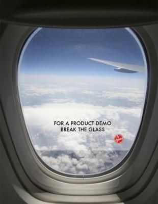 plane ad