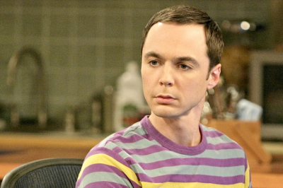 Jim Parsons' patented look of pity/scorn/impatience.