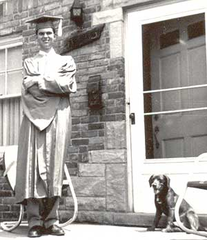 Jerry Walsh, 1951, with Cocoa