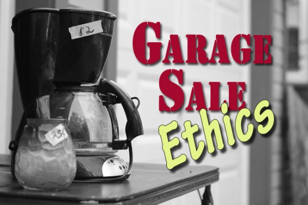 GarageSaleEthics