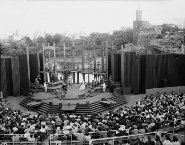Hamlet in Central Park, 1964