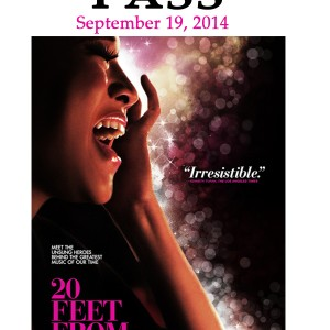 "For Kids, Many Voices Become One at ""Twenty Feet from Stardom"" Benefit Screening & Concert"