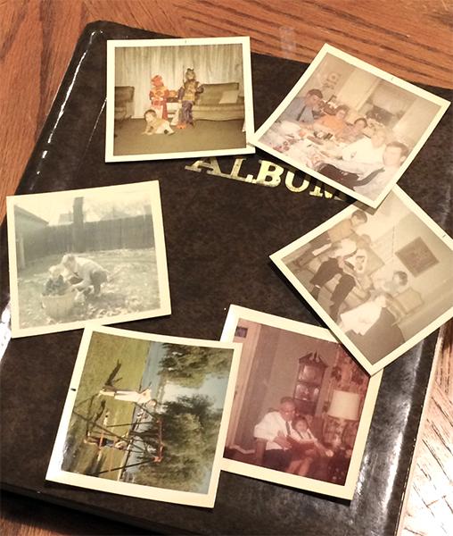 Grandma Walsh's album