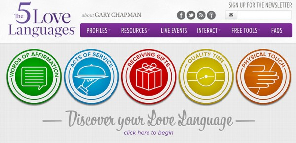 Dr. Gary Chapman's Rosetta Stone for People