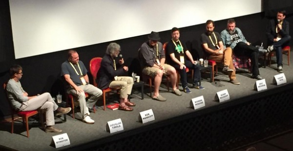 Comedy Panel at Traverse City Film Festival.   Instagram Photo by meggethann