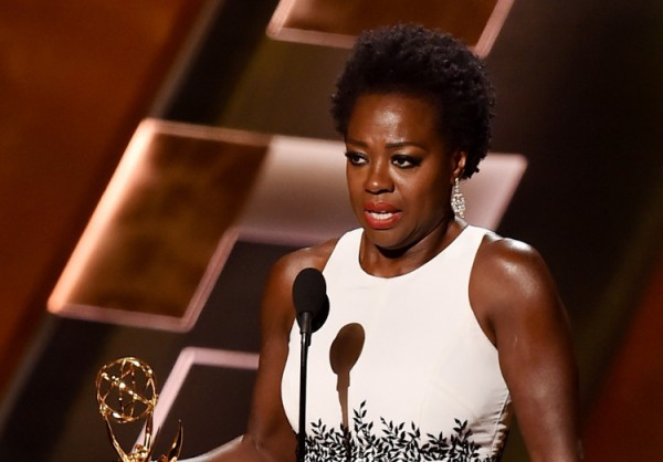 "Viola Davis, the first African American to win Best Actress in a Drama Series for ""How to Get Away with Murder."""