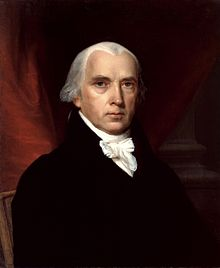 Despite his outward appearance James Madison loved a good party almost as much as a good chess match.
