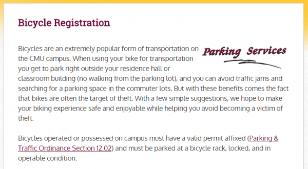 BikeRegistration_CMU